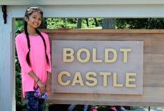 Boldt Castle stock photo