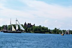 Boldt Castle Royalty Free Stock Images