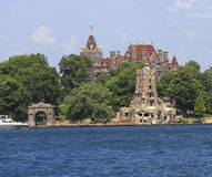 Boldt Castle in Heart Island, Thousand Islands Royalty Free Stock Photo