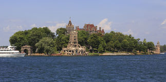 Boldt Castle in Heart Island, Thousand Islands Stock Photo