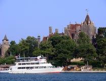 boldt castle island new thousand york 免版税库存照片