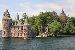 Boldt Castle Island, One Thousand islands Royalty Free Stock Photo