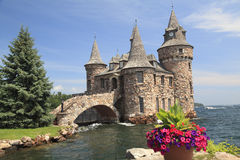 Boldt Castle Island, One Thousand islands stock image