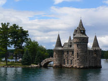 Boldt Castle on Ontario lake, Canada Stock Images