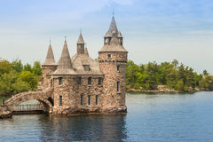 Boldt Castle Stock Image