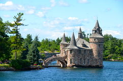 Boldt Castle Power House, One Thousand islands Stock Photos