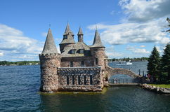 Boldt Castle Power House, One Thousand islands Stock Images