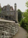 Boldt's Castle. Unfinished castle which was belong to George Boldt Royalty Free Stock Photos