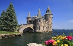 Boldt slott, tusen öar fotografering för bildbyråer