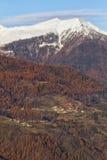 Bolentina. The italian mountain  country, Trentino Royalty Free Stock Image