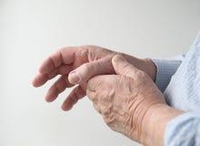 bolesny kciuk Zdjęcia Royalty Free