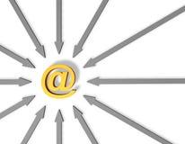 Boletín de noticias Imágenes de archivo libres de regalías