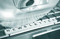 Boletín de noticias Fotografía de archivo libre de regalías