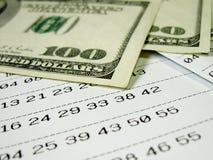 Boleto de lotería - 2 fotografía de archivo libre de regalías