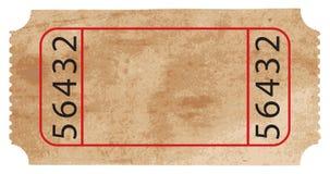 Boleto del vector Foto de archivo