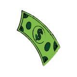 Boleto do dinheiro Fotografia de Stock Royalty Free