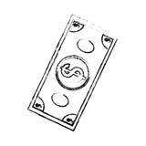 Boleto do dinheiro Imagens de Stock Royalty Free