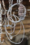 Boleto do metal para a forja Fotos de Stock