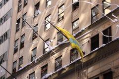 Boleto-sujete con cinta adhesiva el desfile Fotos de archivo
