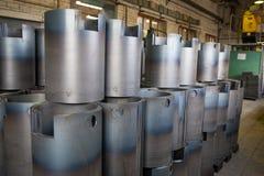 Boletos da tubulação, indústria, produção da tubulação Oficina na empresa Fotos de Stock Royalty Free