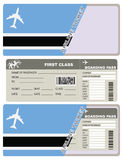 Boletos para el transporte aéreo Botswana Fotos de archivo