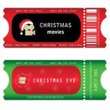 Boletos para la Nochebuena Imagen de archivo