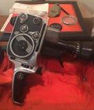 Bolex 8mm tappningkamera arkivfoton