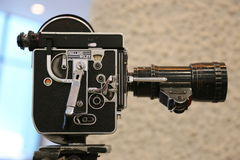 Bolex Paillard 16mm 1965 Foto de Stock Royalty Free