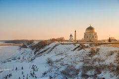 Bolgar历史和考古学复合体 库存图片