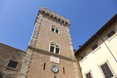 Bolgheri castle stock image