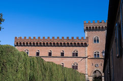 Bolgheri castle Royalty Free Stock Image