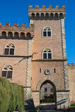 Bolgheri castle Stock Photography