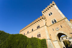 Bolgheri castle Royalty Free Stock Images