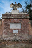 Bolgheri Leghorn, Tuscany - Eagle källa som renoveras i 2009, Ita Royaltyfri Bild