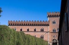 Bolgheri slott Royaltyfri Bild