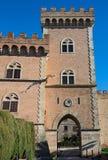 Bolgheri slott Arkivbild