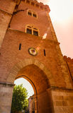 Bolgheri village Tuscany, Italy. Stock Images
