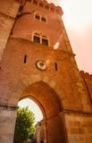 Bolgheri wioska Tuscany, Włochy obrazy stock