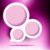 Bolha abstrata do design web. + EPS8 Fotografia de Stock
