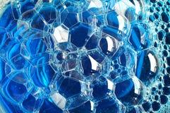 Bolha azul Foto de Stock Royalty Free