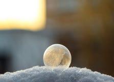 Bolha congelada Imagens de Stock