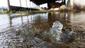 Bolha da água Imagens de Stock