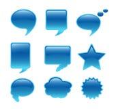 Bolha de uma comunicação Fotos de Stock
