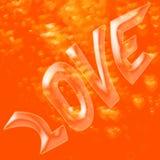 Bolha do amor Imagem de Stock Royalty Free