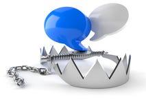 Bolha do bate-papo ilustração do vetor