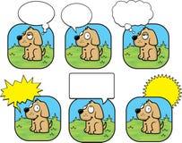 Bolha do cão Fotografia de Stock Royalty Free