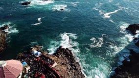 Bolha do la Bufadora, atração famosa de Ensenada video estoque