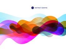 A bolha gosta do projeto gráfico abstrato Fotografia de Stock Royalty Free