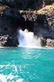 Bolha no litoral Foto de Stock