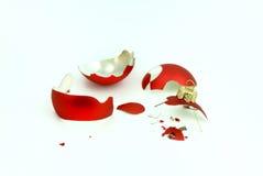Bolha quebrada do Natal. Foto de Stock